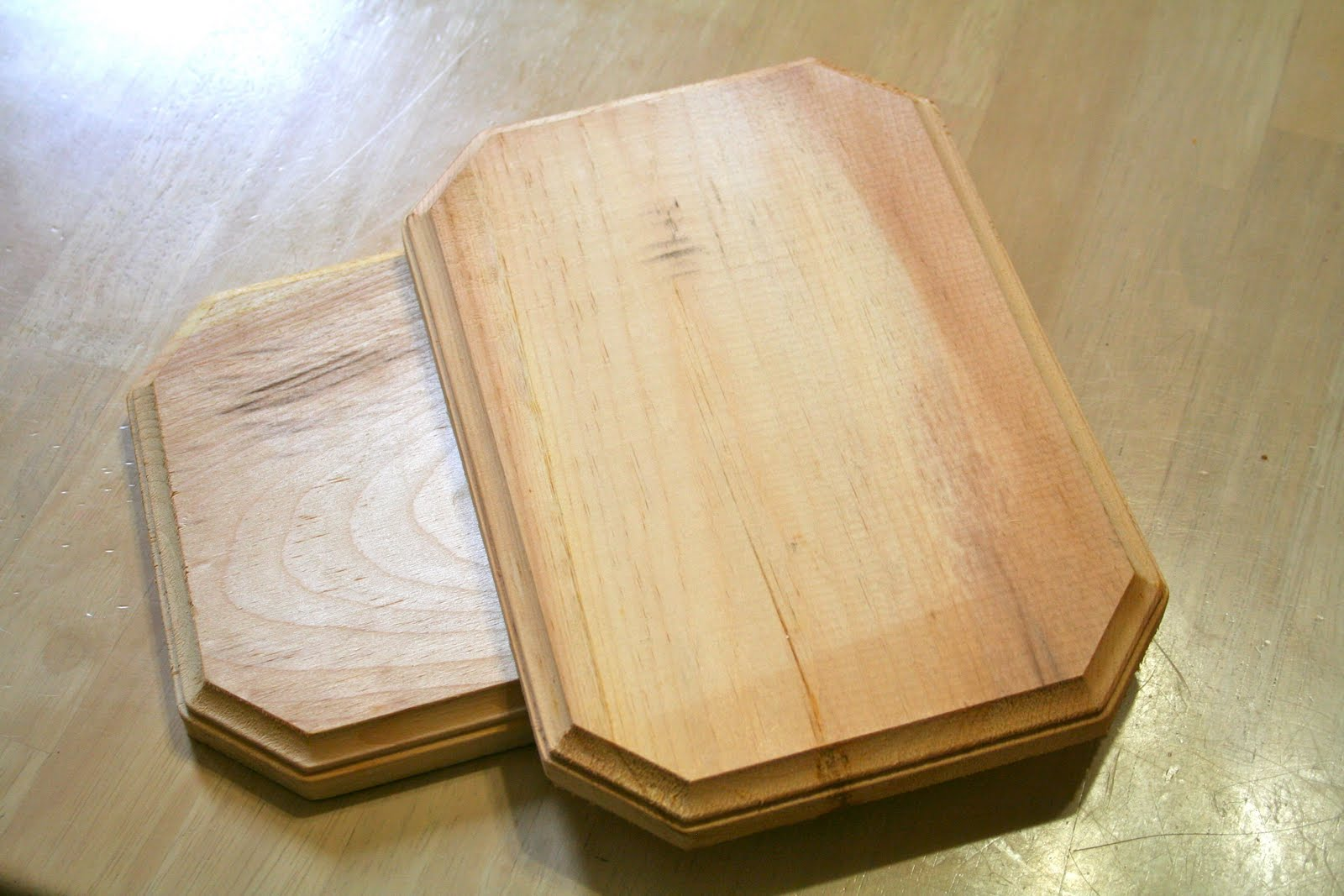 Wooden Plaque Project