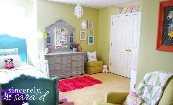 the big girl room redo sincerely sara d